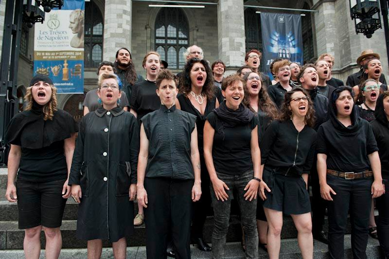 Scream Choir, Encuentro, Montréal