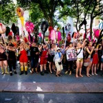The Hole-y Army, New York Dyke March
